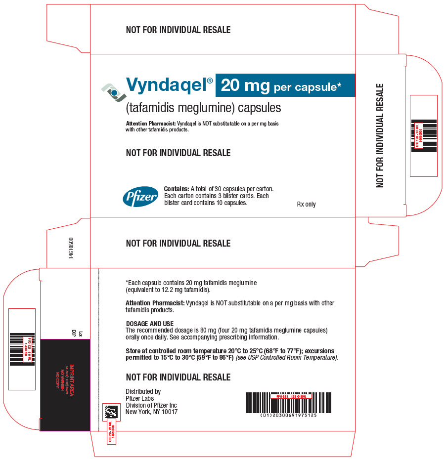 PRINCIPAL DISPLAY PANEL - 20 mg Capsule Blister Card Carton