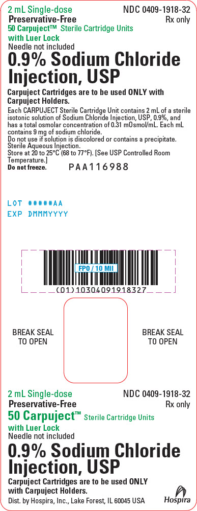 PRINCIPAL DISPLAY PANEL - 2 mL Cartridge Container Label